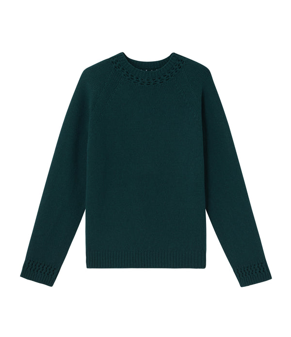 Janet sweater - KAG - Evergreen