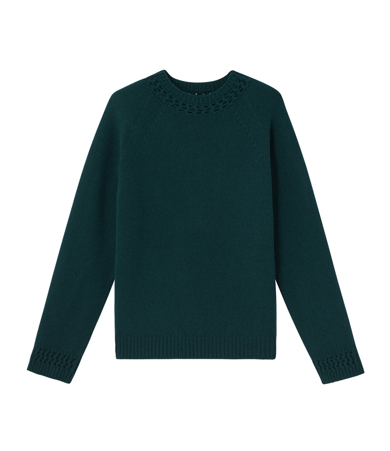 This is the Janet sweater product item. Style KAG-1 is shown.