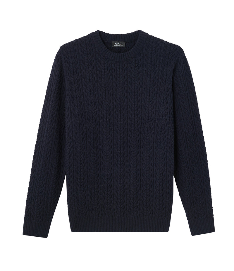 This is the Graham sweater product item. Style IAK-1 is shown.