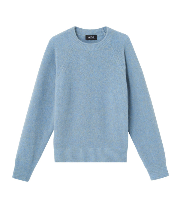 Wendy sweater - PIE - Heathered blue gray