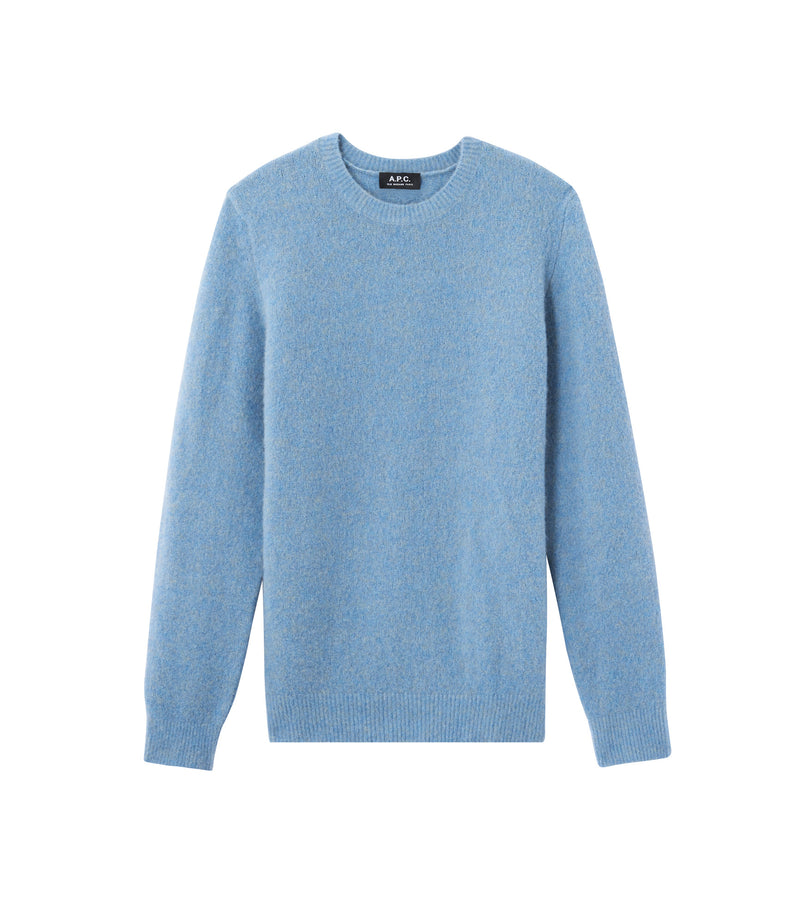 This is the Lorenz sweater product item. Style PIE-1 is shown.