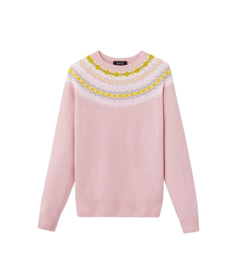 This is the Miranda sweater product item. Style FAB-1 is shown.