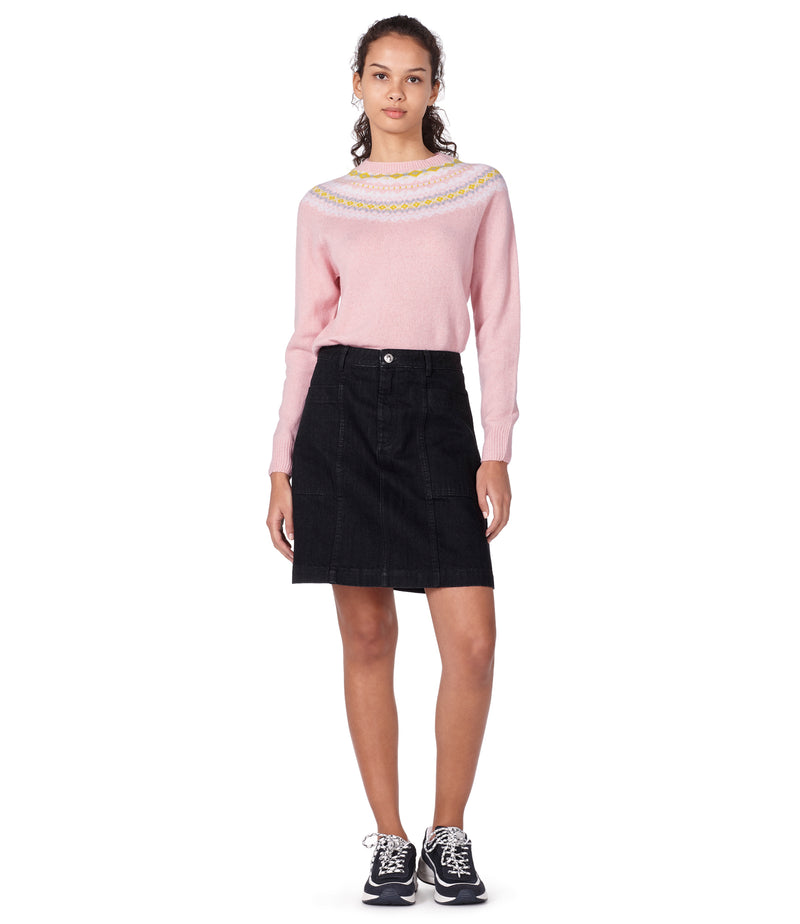 This is the Miranda sweater product item. Style FAB-4 is shown.