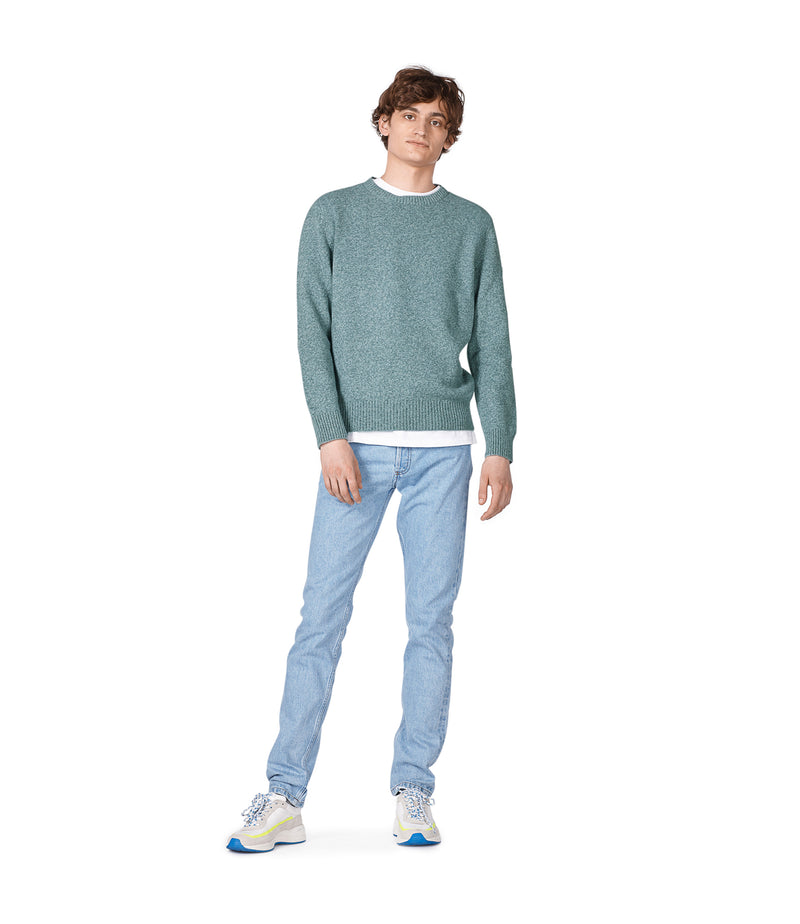 This is the Marcus sweater product item. Style PIE-4 is shown.