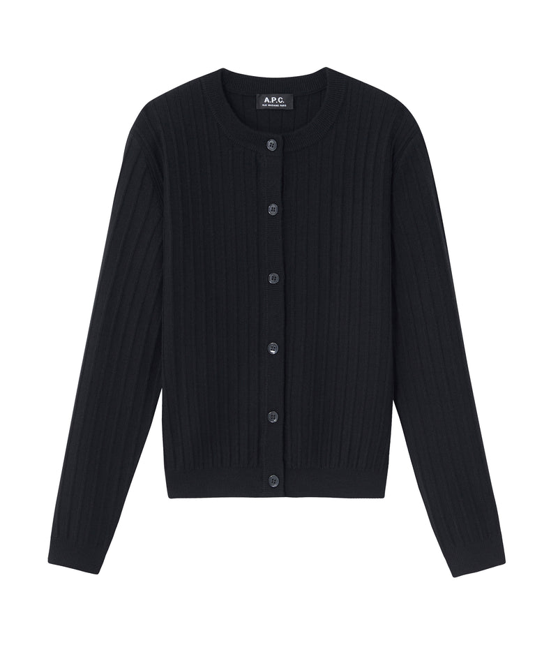 This is the Vicky cardigan product item. Style LZZ-1 is shown.