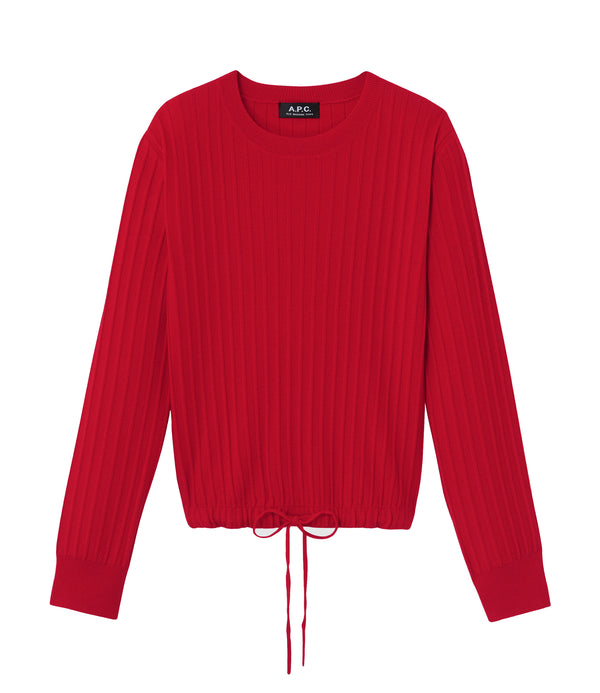 Taeko sweater - GAA - Red