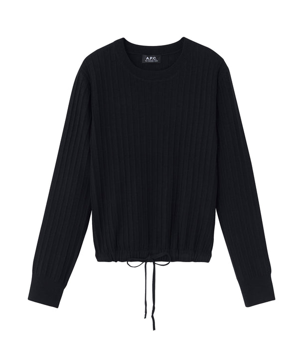 Taeko sweater - LZZ - Black