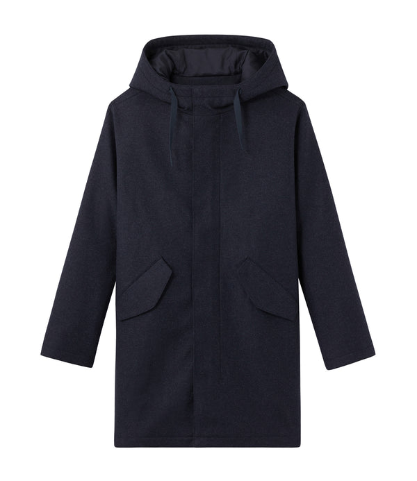 Benoit coat - IAH - Dark blue