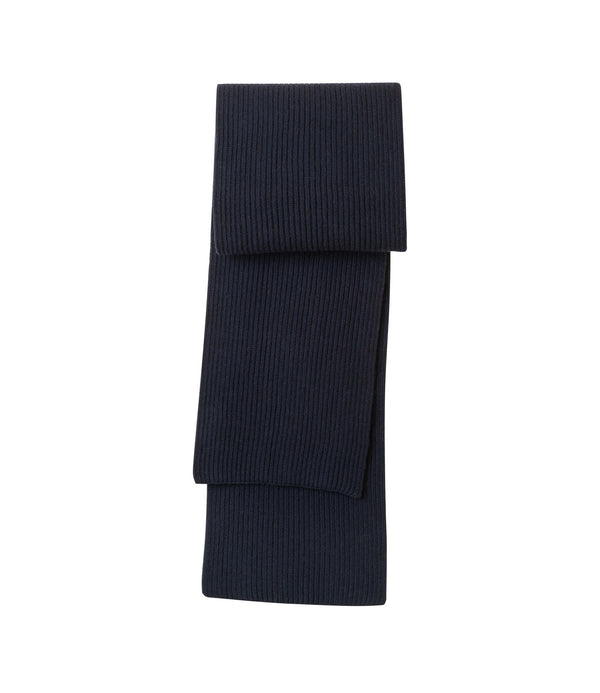 Diego scarf - IAK - Dark navy blue