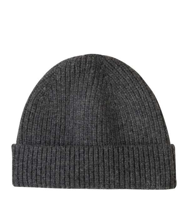Paul beanie - PLC - Heather charcoal gray