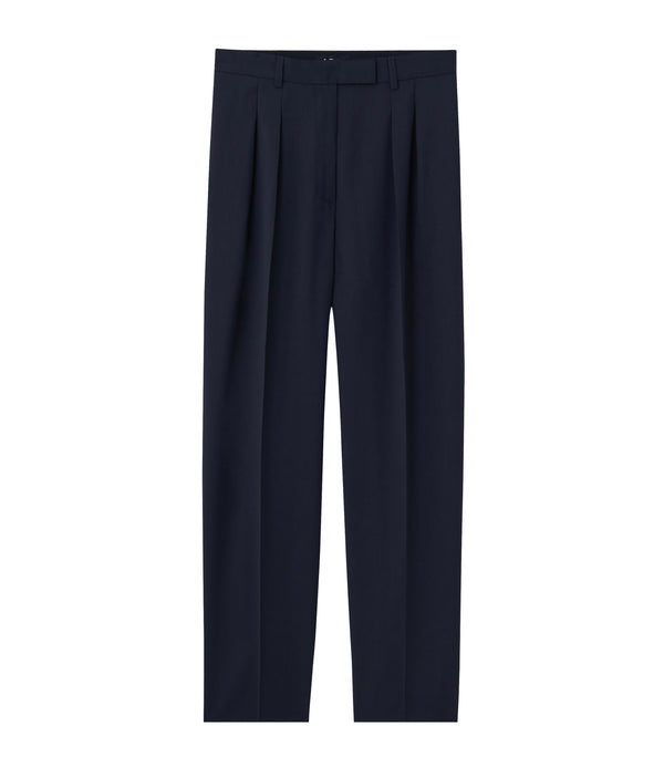 Cheryl pants - IAK - Dark navy blue