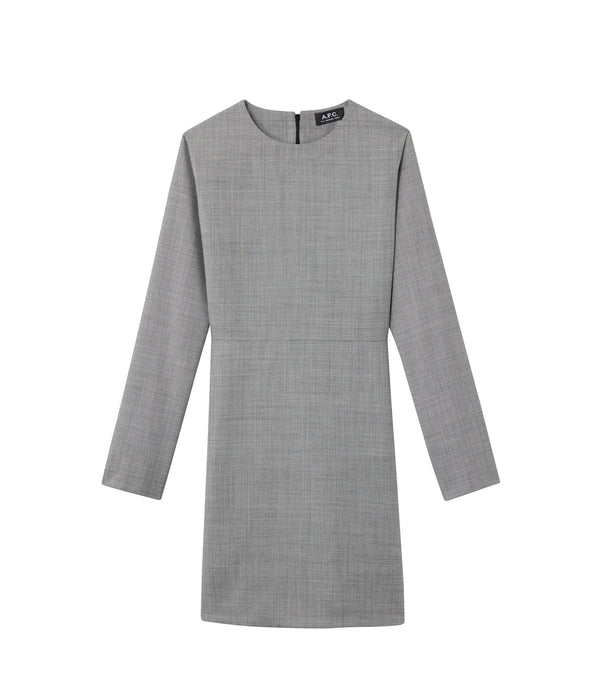 Maddy dress - LAD - Charcoal gray