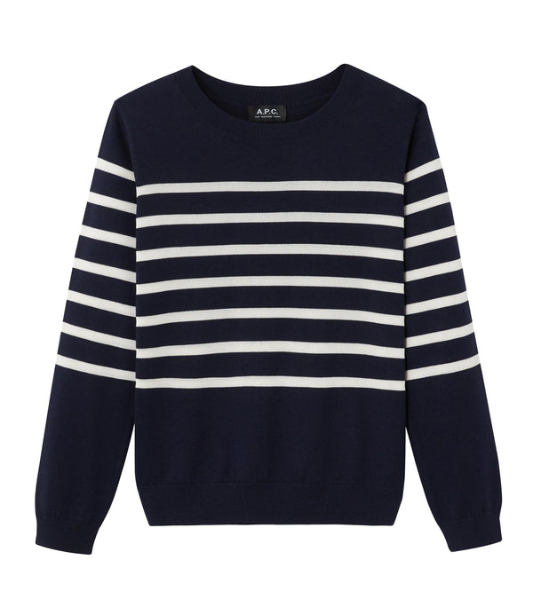 Cordelia sweater - IAK - Dark navy blue