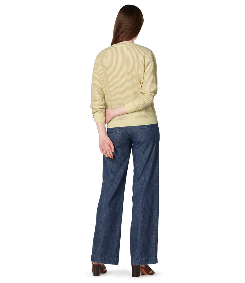 This is the Evelyn sweater product item. Style DAB-3 is shown.