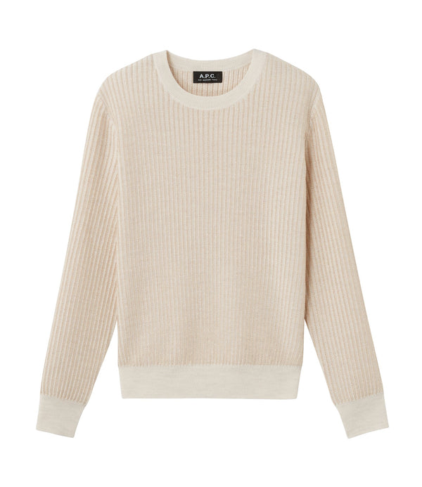 Evelyn sweater - PAA - Heather ecru