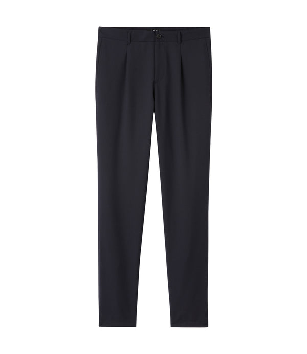 Dorian pants - IAK - Dark navy blue