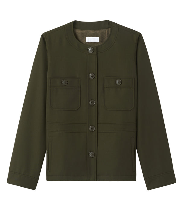 Mathilde jacket - JAC - Military khaki