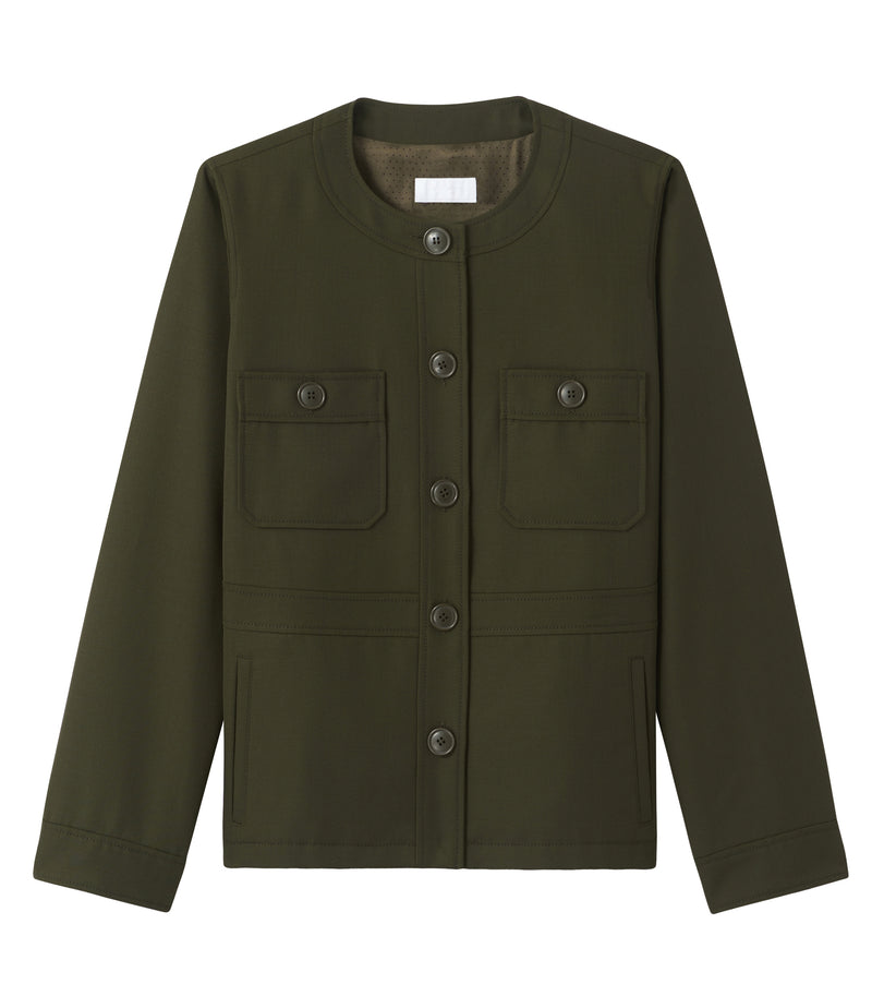 This is the Mathilde jacket product item. Style JAC-1 is shown.