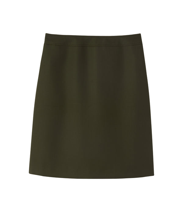 Nelly skirt - JAC - Military khaki