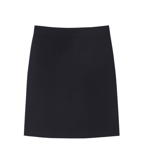 Nelly skirt - IAK - Dark navy blue