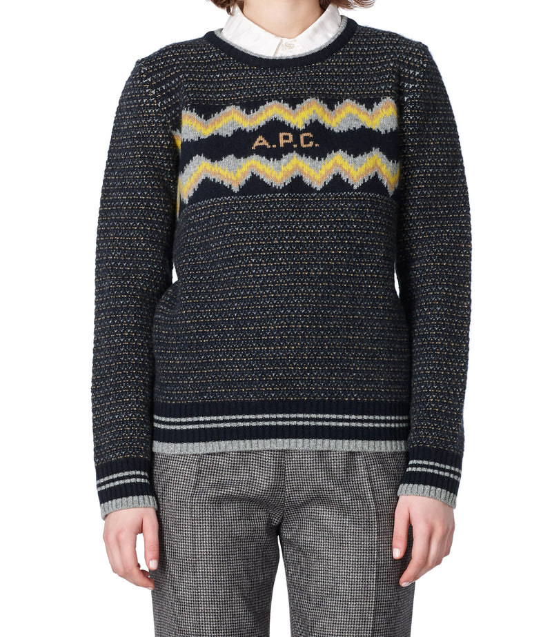 This is the Adele sweater product item. Style IAK-2 is shown.