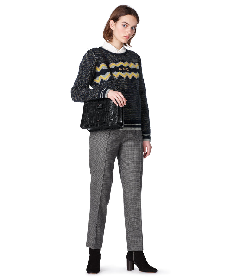 This is the Adele sweater product item. Style IAK-4 is shown.