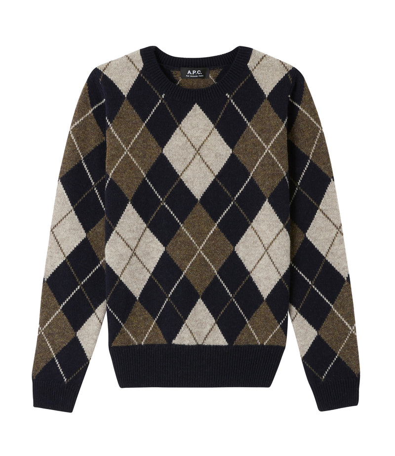This is the Hélène sweater product item. Style IAK-1 is shown.