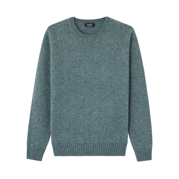 André sweater - PIE - Heather blue gray
