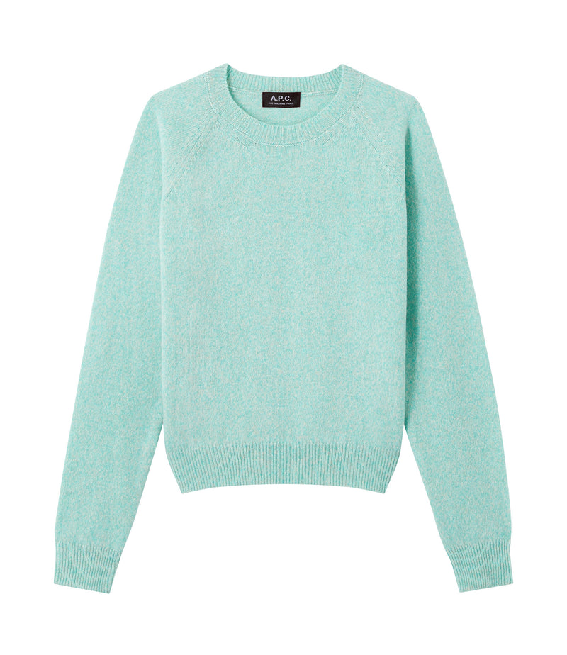 This is the Axelle sweater product item. Style KAA-1 is shown.