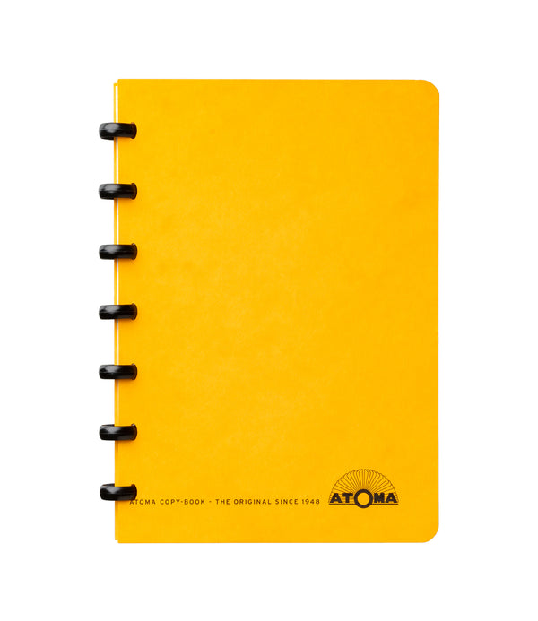 Small notebook - ATOMA - DAA - Yellow