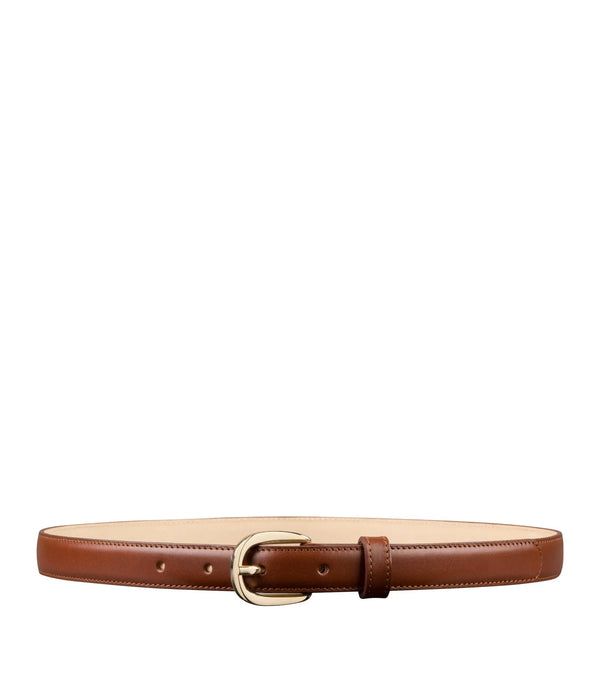 Rosette belt - CAD - Nut brown