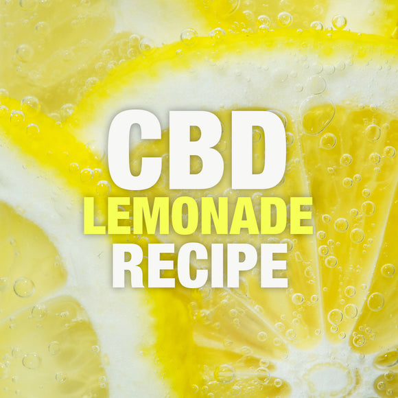 CBD Lemonade Recipe - Perfect for the hot summer days!