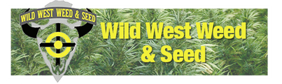 wild west weed and seed logo and website banner shop Denver hemp cbd full spectrum