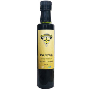 Hemp Seed Oil (8 fl oz) [THC/CBD-FREE]