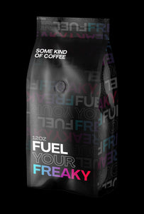 Fuel Your Freaky series: Medium-Dark Roast