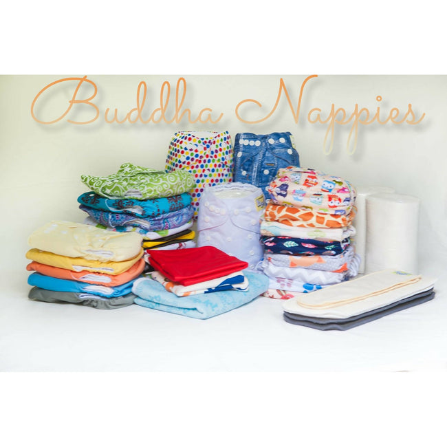 Deluxe Full Time Nappy Pack - DUE JUNE 7th -