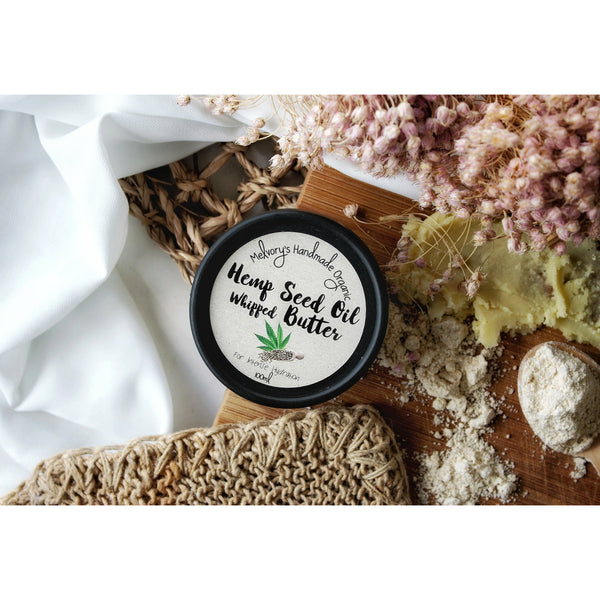 Help Seed Oil Whipped Butter - Melvory's Handmade Organic Skincare