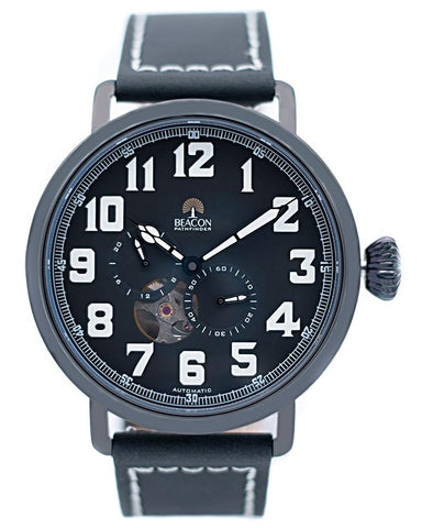 The Pathfinder 45mm - Carbon Black (Special Edition) - Beacon Watches Co.