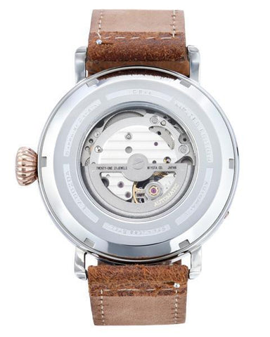 The Pathfinder 45mm - Pine Silver - Beacon Watches Co.