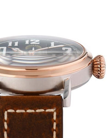 The Pathfinder 45mm - Pine Gold - Beacon Watches Co.