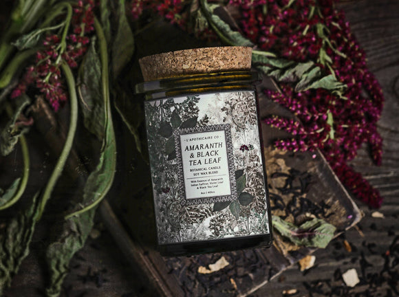 Amaranth & Black Tea Candle