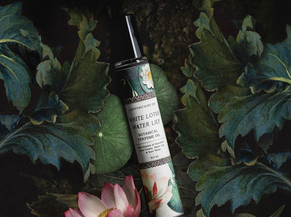 White Lotus & Water Lily Perfume Oil