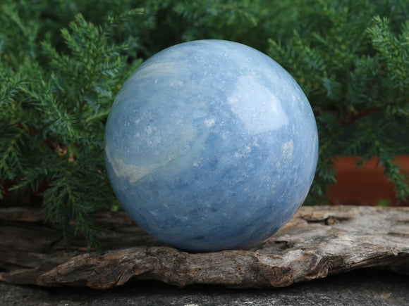 Celestite Sphere (one of a kind)