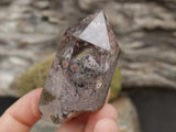 Lodolite Quartz with Pyramid (one of a kind)