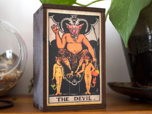 The Devil Tarot Card Box