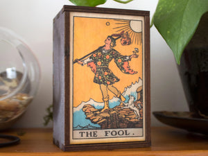 The Fool Tarot Card Box