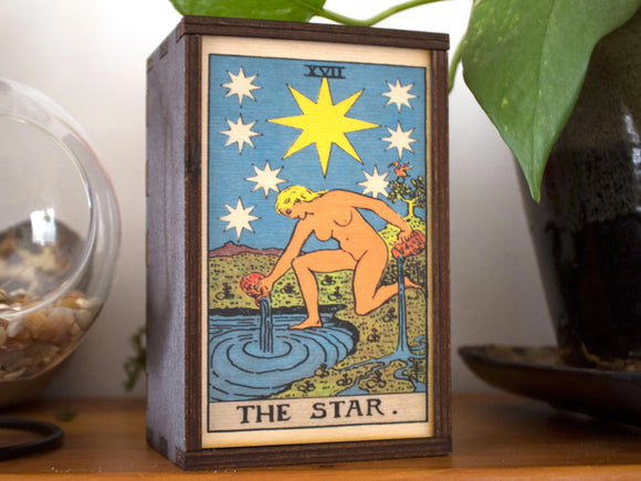 The Star Tarot Card Box
