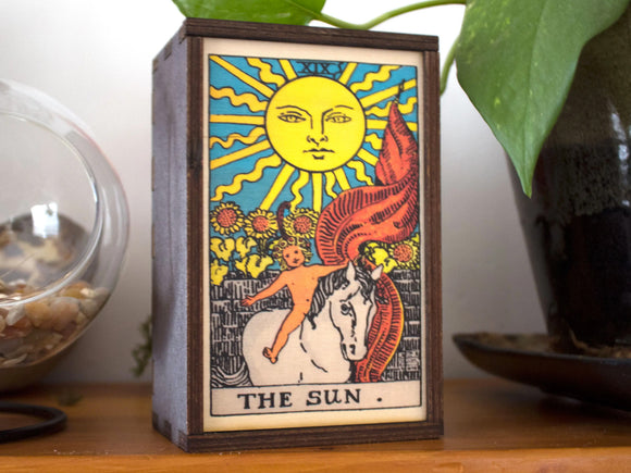The Sun Tarot Card Box