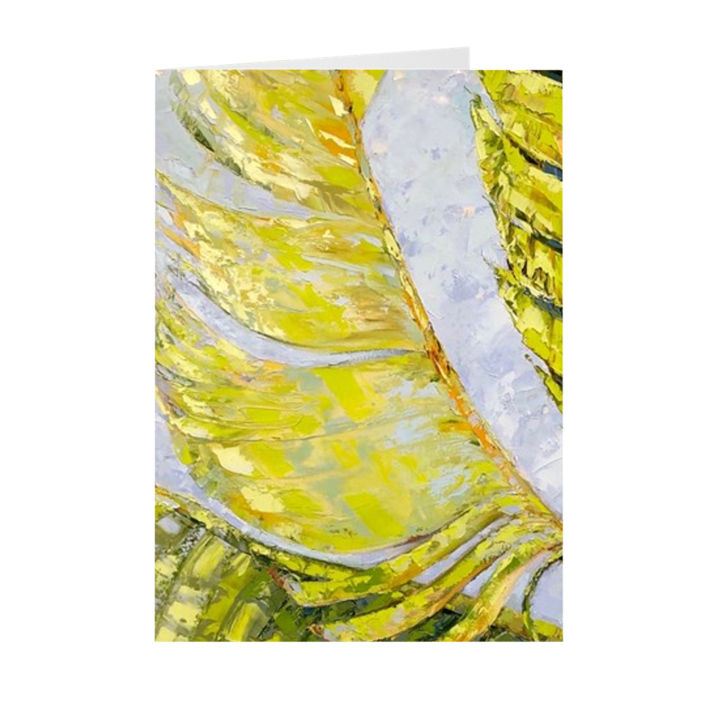 Paradise Palms | Folded Fine Art Card | Pack of 10