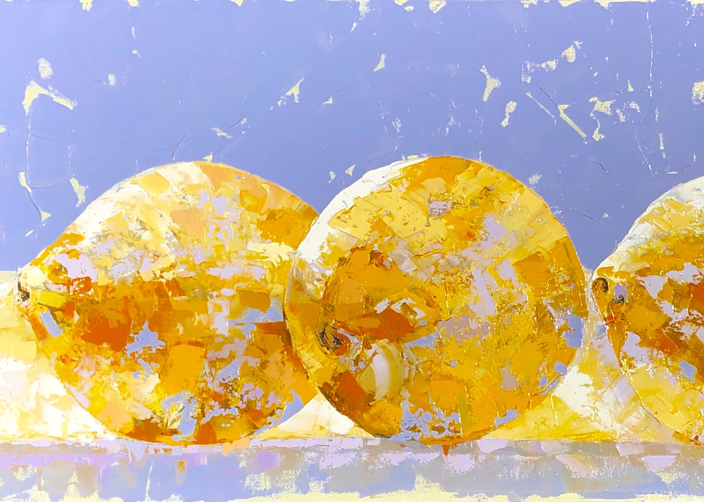 Lemons | Oil on Canvas | 3' x 4'